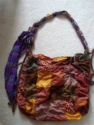 Hand-Sewn Patchwork Bag