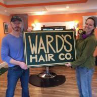 Ward's Hair Co. Signage