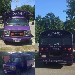 Dingo's Dogsitting Bus Front & Back