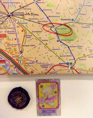 Paris, France Map