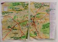 Edinburgh, Scotland Map