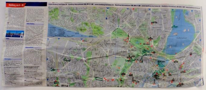Hamburg, Germany Map