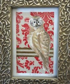 Barred Owl: Wild Watercolor Series