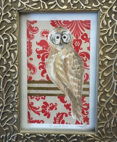 Barred Owl: Wild Watercolor Series